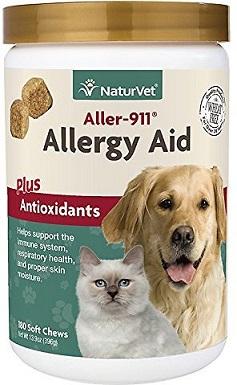 3NaturVet Aller-911 Allergy Aid Soft Chews
