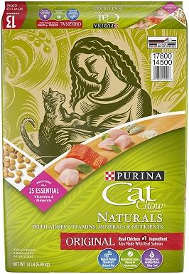 3Purina Cat Chow Naturals