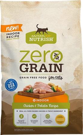 3Rachael Ray Nutrish Zero Grain Indoor Chicken & Potato Recipe Grain-Free
