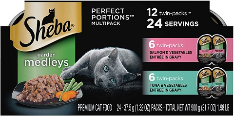 3Sheba Perfect Portions Garden Medleys Cat Food