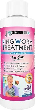 3Vet Recommended Cat Ringworm Treatment Concentrate