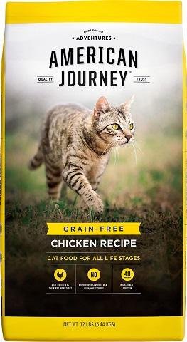 4American Journey Chicken Recipe Grain-Free Dry Cat Food