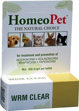 4HomeoPet WRM Clear Dog