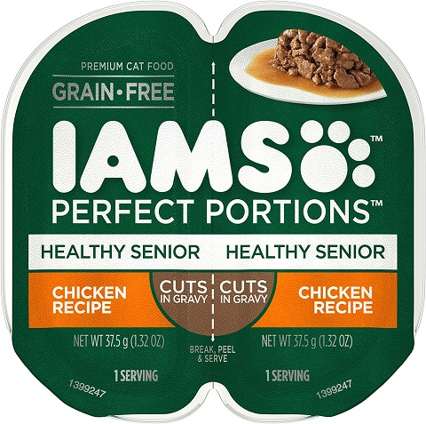 4IAMS Perfect Portions Healthy Grain Free Wet Cat Food