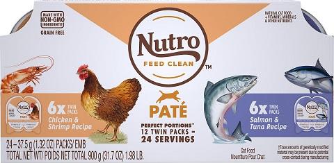 4Nutro Perfect Portions Grain-Free Paté Multi-Pack Real Salmon & Tuna