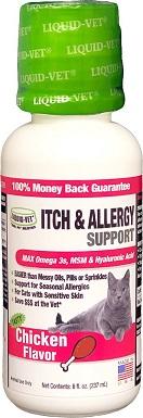 5Liquid-Vet Itch & Allergy Support Chicken Flavor Cat Supplement