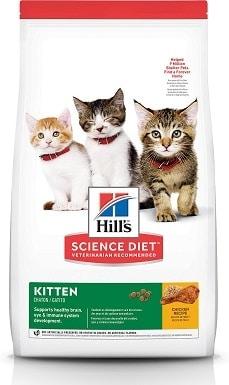 6Hill's Science Diet Kitten Chicken Recipe Dry Cat Food