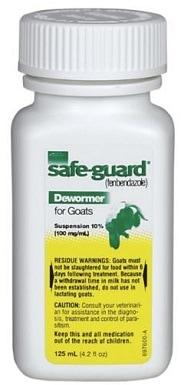 6Safe-guard (Fenbendazole) Dewormer