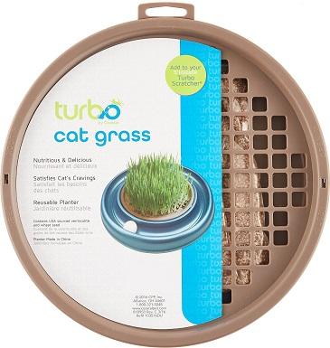 7Bergan Turbo Scratcher Cat Grass