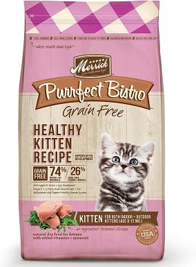 7Merrick Purrfect Bistro Grain-Free Healthy Kitten Recipe Dry Cat Food