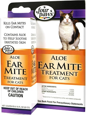 8Four Paws Ear Mite Remedy