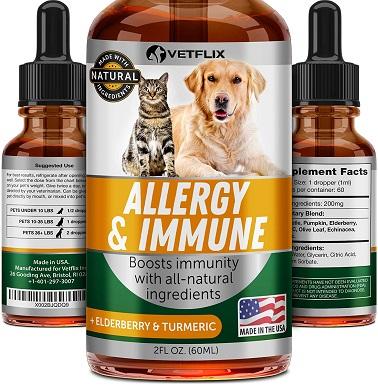 8Vetflix Herbal Pet Supplement for Immune System Support