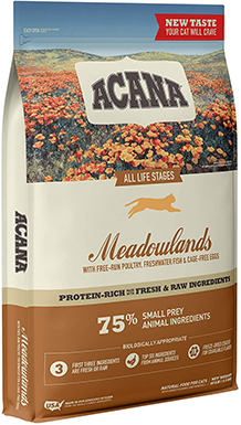 Acana Meadowlands Premium Dry Cat Food