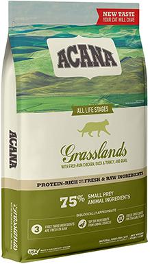 Acana New Grasslands Premium Dry Cat Food