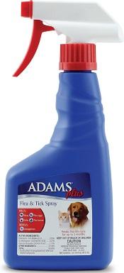 Adams Plus Flea & Tick Pet Spray
