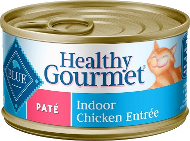 Blue Buffalo Healthy Gourmet Pate for Indoor Cats