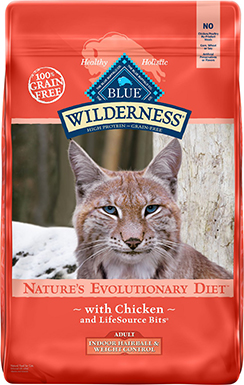 Blue Buffalo Wilderness Indoor Hairball & Weight Control Chicken Recipe