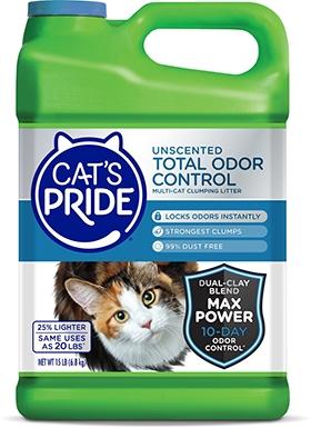 Cat's Pride Total Odor Control Clay Cat Litter