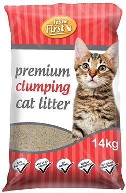 Feline First 50465 Premium Clumping Cat Litter
