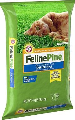 Feline Pine Non-clumping Wood Cat Litter