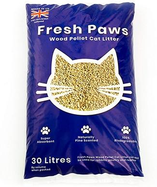Fresh Paws Premium Wood Pellet Cat Litter