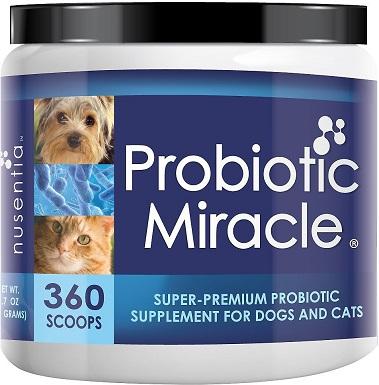 Nusentia Probiotic Miracle Cat Supplement