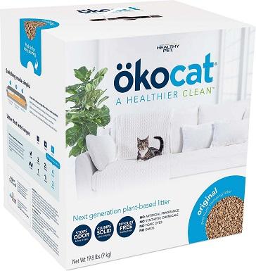 Okocat Wood Clumping Cat Litter