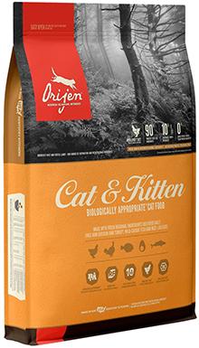 Orijen High-Protein, Grain-Free Dry Cat & Kitten Food
