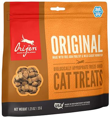 Orijen High-Protein, Grain-Free Freeze-Dried Cat Treats