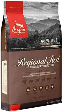 Orijen High-Protein, Grain-Free Regional Red Dry Cat Food