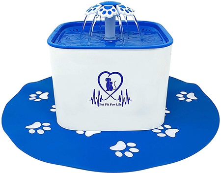 Pet Fit for Life Plastic Cat Water Fountain