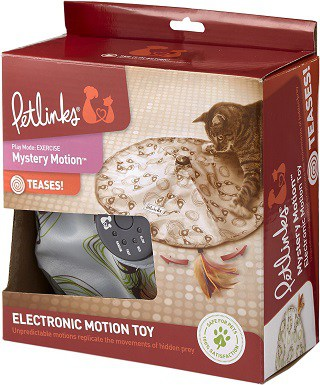 Petlinks Mystery Motion Electronic Motion Cat Toy