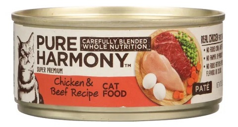 Pure Harmony Chicken & Beef Recipe Pâté feat