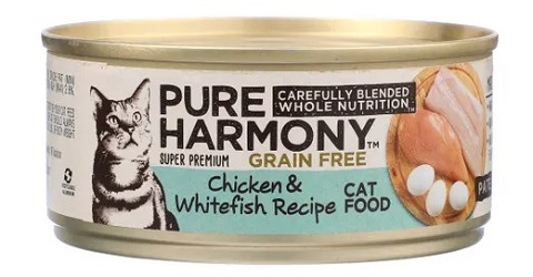 Pure Harmony Grain-Free Chicken & Whitefish Recipe Pâté second