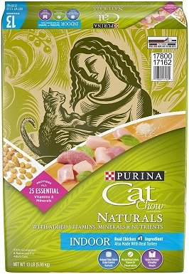 Purina Cat Chow Naturals Hairball & Weight Control Adult Dry Cat Food