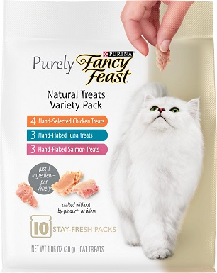 Purina Fancy Feast Purely Natural Treats