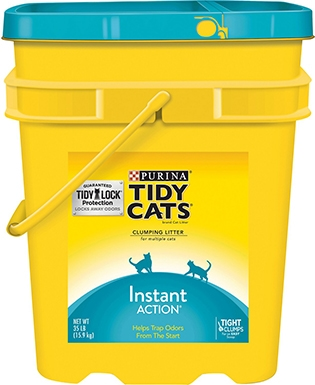 Purina Tidy Cats Instant Action Clay Cat Litter