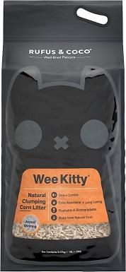 Rufus & Coco Wee Kitty Corn Cat Litter