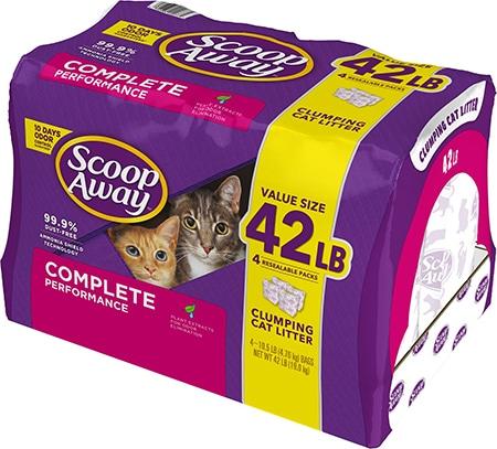 Scoop Away Complete Performance Clay Cat Litter