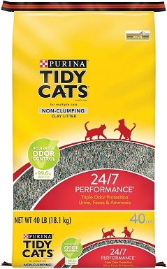 Tidy Cats 24-7 Performance Scented Non-Clumping Clay Cat Litter