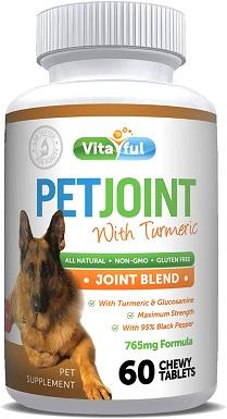 VITAFUL PetJoint Turmeric & Glucosamine