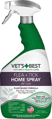 Vet's Best Cat Flea & Tick Home Spray