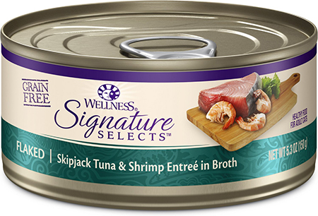 Wellness CORE Signature Selects Flaked Skipjack Tuna & Shrimp Entree