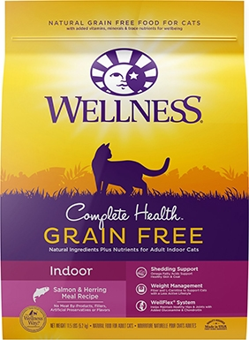 Wellness Complete Health Natural Salmon & Herring Indoor Formula