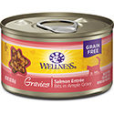 Wellness Natural Gravies Salmon Entree