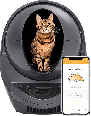 11Litter-Robot WiFi Enabled Automatic Self-Cleaning Cat Litter Box
