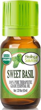 2Organic Sweet Basil Essential Oil
