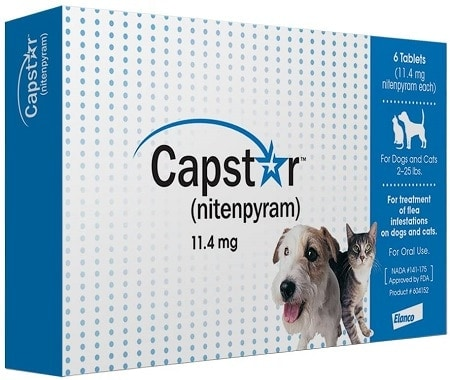 6Capstar Fast-Acting Oral Flea