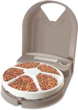 7PetSafe Eatwell 5-Meal Automatic Dog & Cat Feeder