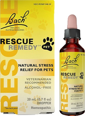 Rescue Remedy Stress Relief Pet Supplement – Best Overall